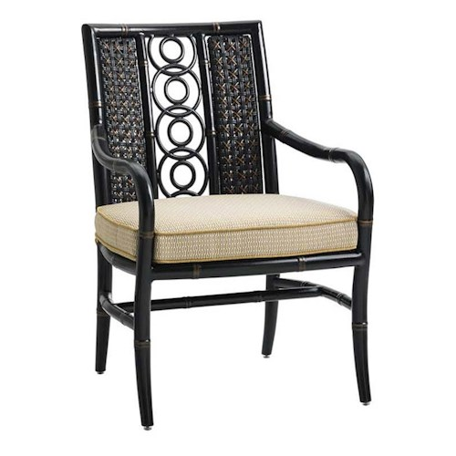 Tommy Bahama Outdoor Living Marimba Outdoor Dining Arm Chair