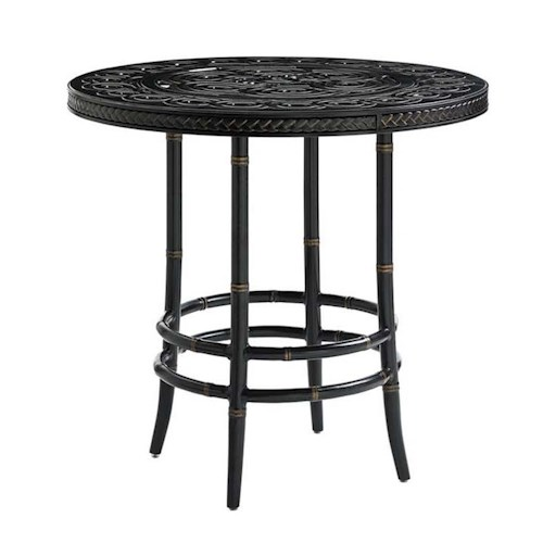 Tommy Bahama Outdoor Living Marimba Outdoor High / Low Adjustable Bistro Table
