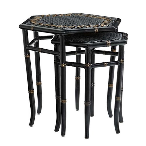 Tommy Bahama Outdoor Living Marimba Outdoor Nesting Accent Tables