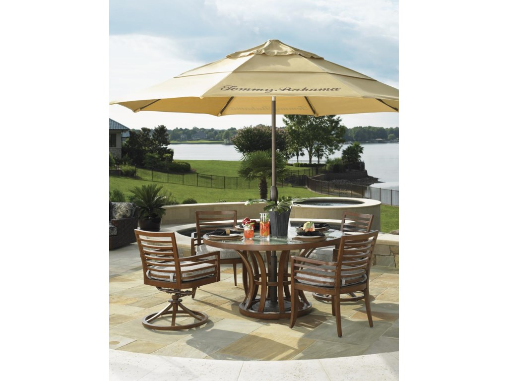 Wheat Umbrella Featured in Alfresco Living Collection