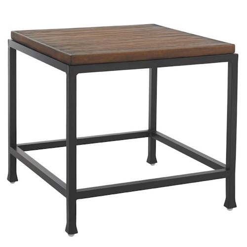 Tommy Bahama Outdoor Living Ocean Club Pacifica Weatherstone Square End Table