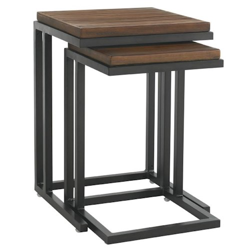Tommy Bahama Outdoor Living Ocean Club Pacifica Weatherstone Nesting Tables