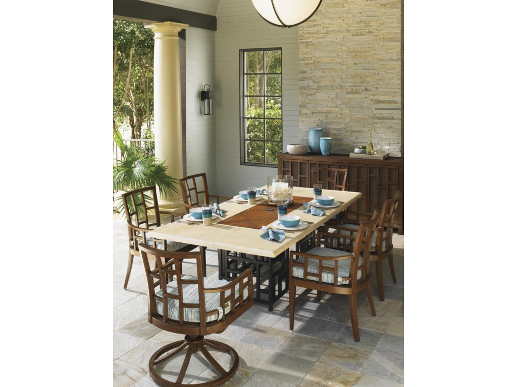 Shown with Rectangular Dining Table, Buffet and Dining Chair