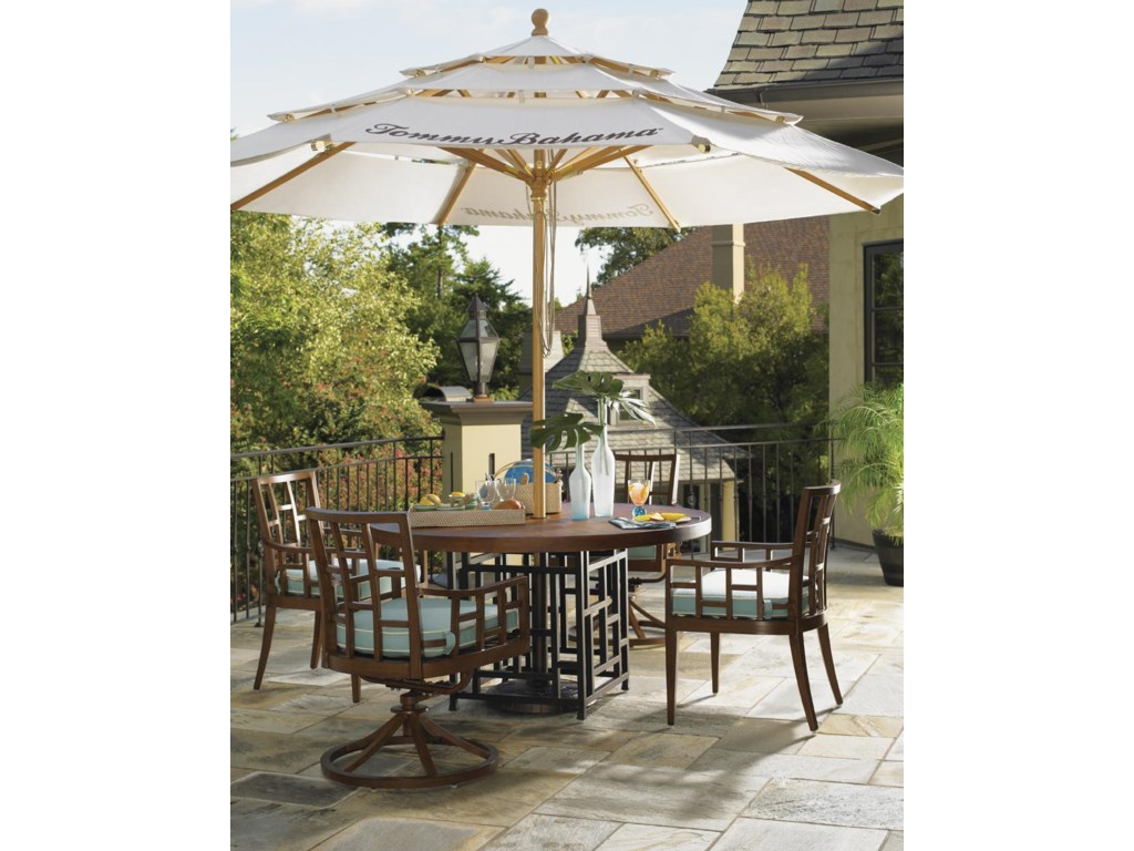 Canvas Umbrella Featured in Alfresco Living Collection