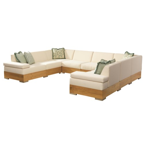 Tommy Bahama Outdoor Living Tres Chic Outdoor Chat Set