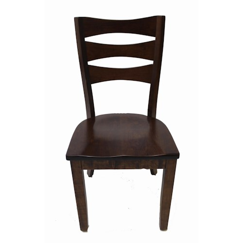 Trailway Wood ALT3648 Amish Solid Wood Side Chair