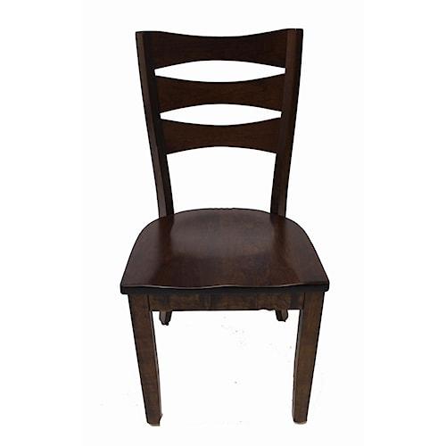 Trailway Wood ALT3648 Amish Solid Wood Side Chair