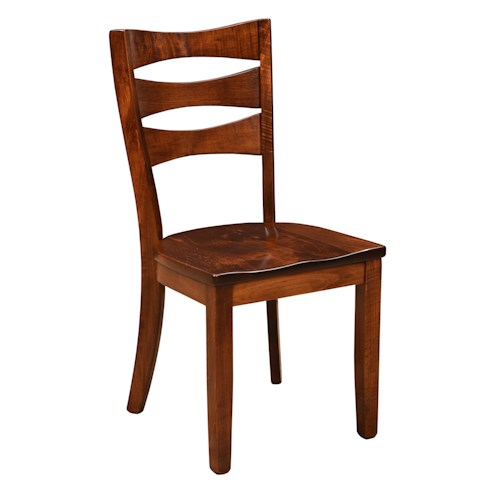 Trailway Wood Arlington Customizable Solid Wood Side Chair