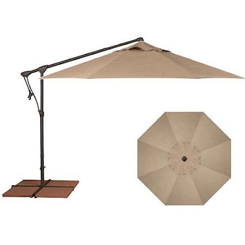 Treasure Garden Cantilever Umbrellas 10' Cantilever Umbrella