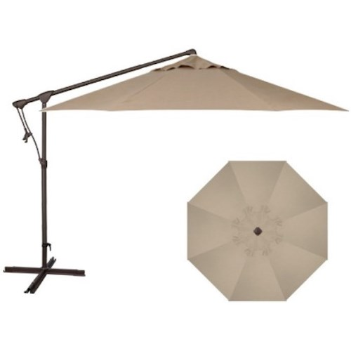 Treasure Garden Cantilever Umbrellas 10' Cantilever Umbrella