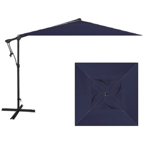 Belfort Umbrellas Cantilever Umbrellas 8.5' Swuare Cantilever Umbrella