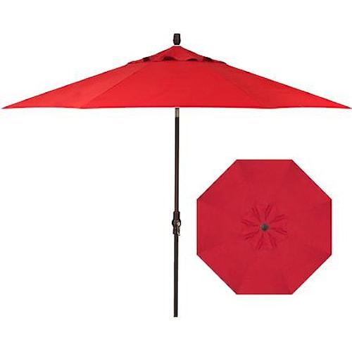 Belfort Umbrellas Market Umbrellas 9' Collar Market Tilt Umbrella