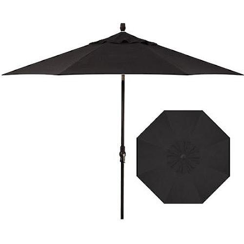 Treasure Garden Market Umbrellas 9'Collar Market Tilt Umbrella