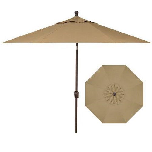 Belfort Umbrellas Push Button Market Umbrellas 7.5' Push Button Tilt