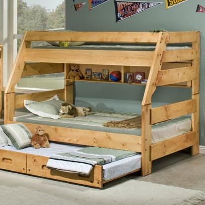 Trundle and Universal Bunkshelf Sold Seperately.
