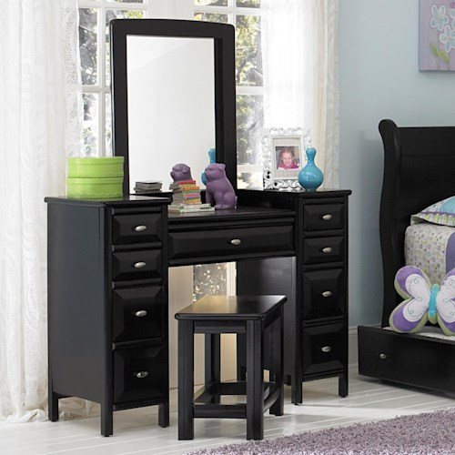 Trendwood Laguna  Vanity Set with Mirror and Bench