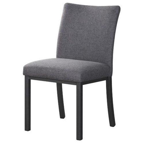 Trica Contemporary Bar Stools Biscaro Upholstered Dining Side Chair