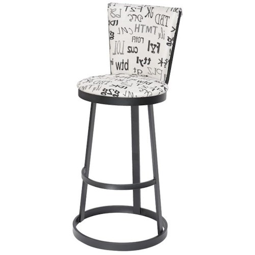 Trica Contemporary Bar Stools Cya Swivel Bar Stool