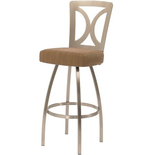 Trica Contemporary Bar Stools Grace Swivel Bar Stool