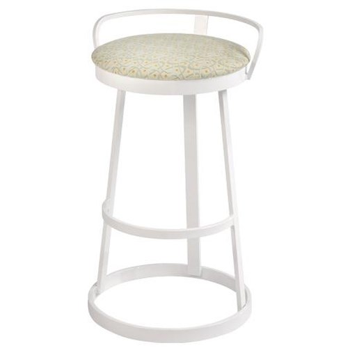 Trica Contemporary Bar Stools Texto Swivel Bar Stool