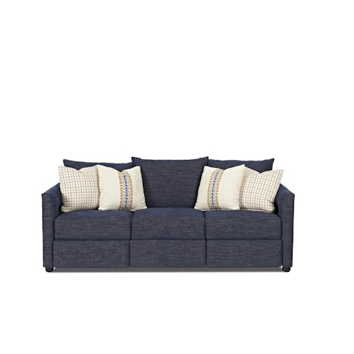 Trisha Yearwood Home Collection by Klaussner Twilight Power Reclining Sofa