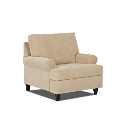 Trisha Yearwood Home Collection by Klaussner Beth  Transitional Style Power Reclining Chair