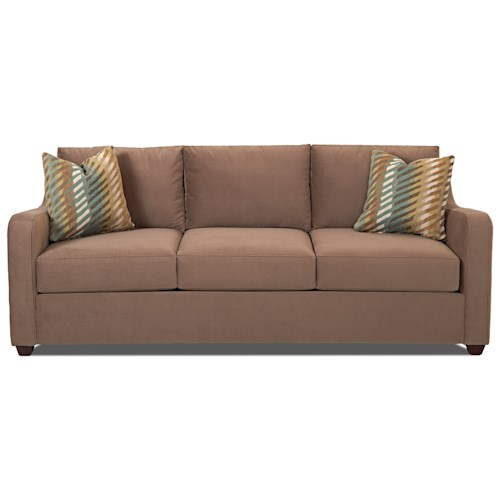 Klaussner Greer Queen Inner Spring Sleeper Sofa