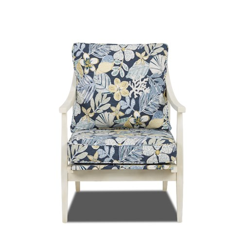 Trisha Yearwood Home Lynn Contemporary Occasional Chair with Loose Cushions