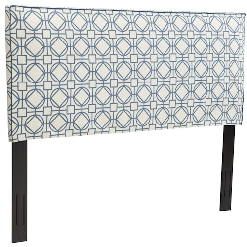 Trisha Yearwood Home Collection by Klaussner Tommy Twin Upholstered Headboard