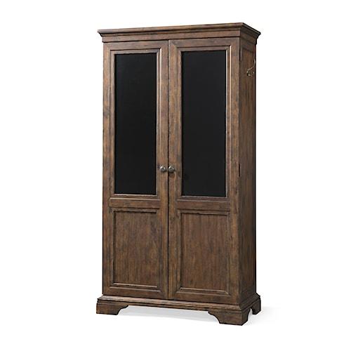 Trisha Yearwood Home Trisha Yearwood Home Walk Away Joe Storage Cabinet with Chalkboard on Doors
