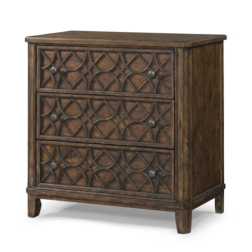 Trisha Yearwood Home Trisha Yearwood Home Gwendolyn 3 Drawer Accent Chest