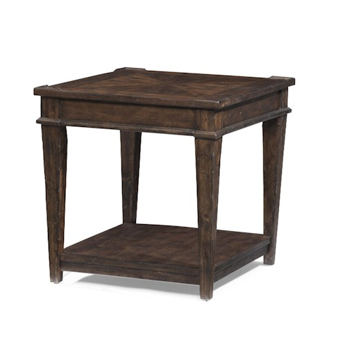 Trisha Yearwood Home Collection by Klaussner Trisha Yearwood Home End Table with One Shelf