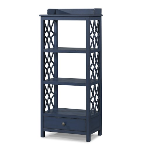 Trisha Yearwood Home Trisha Yearwood Home Honeysuckle Etagere with Shelf and Drawer Storage