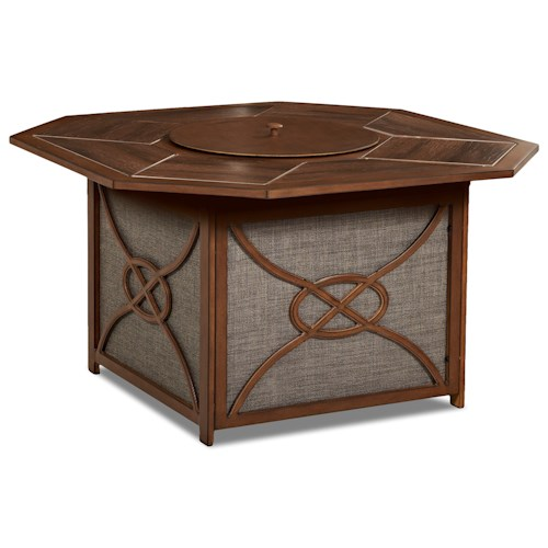 Trisha Yearwood Home Collection by Klaussner Trisha Yearwood Outdoor Firepit with Burner Cover