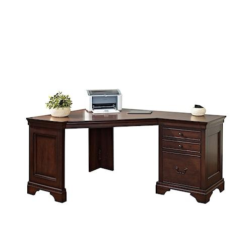 Turnkey Products Belcourt Corner Computer Desk