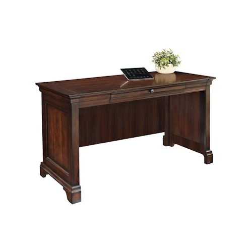 Turnkey Products Belcourt Writing Desk with Pencil Drawer