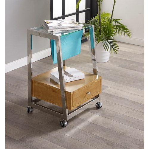 Turnkey Products Geo File Cart with Locking Casters