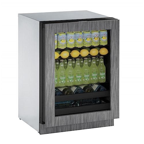 U-Line Beverage Centers 4.9 cu. ft. Capacity 3000 Series 24