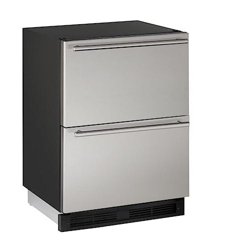 U-Line Refrigerators 5.4 cu. ft. 24