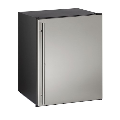 U-Line Refrigerators ENERGY STAR® 5.3 cu. ft. Under-Counter Refrigerator with 4 Chrome Plated Wire Shelves