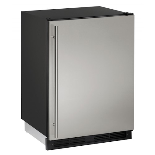 U-Line Refrigerators 4.2 cu. ft. Built-in Refrigerator/Freezer Combo with 3 Removable Tempered Glass Shelves