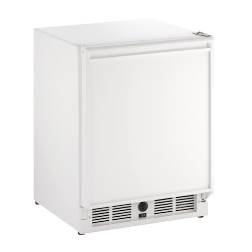 U-Line Refrigerators 2.1 Cu. Ft. Compact Refrigerator with 8 lbs of Ice Production Per Day