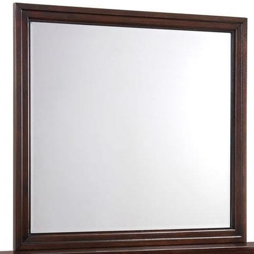 Simmons Upholstery 1006 Agathis Mirror with Frame