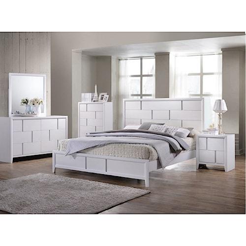 United Furniture Industries 1011 King Bedroom Group