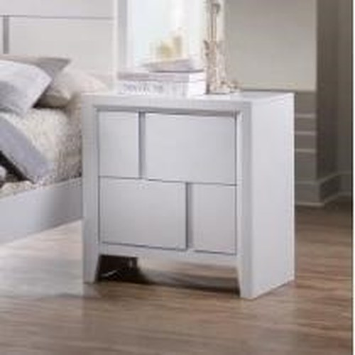 United Furniture Industries 1011 2 Drawer Night Stand