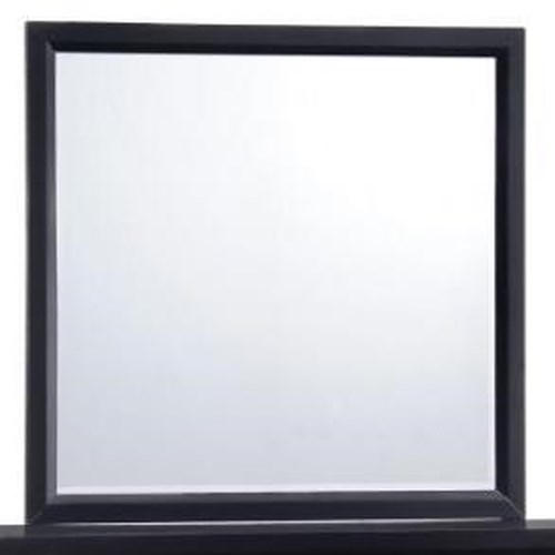 United Furniture Industries 1014 Mirror with Wood Frame