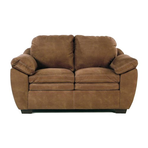 United Furniture Industries 9535 DC Casual Loveseat w/ Pillow Arm