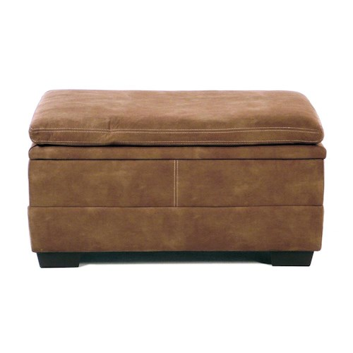 United Furniture Industries 9535 DC Rectangular Storage Ottoman