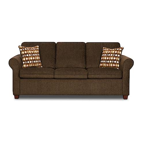 United Furniture Industries 1630 Transitional Sofa
