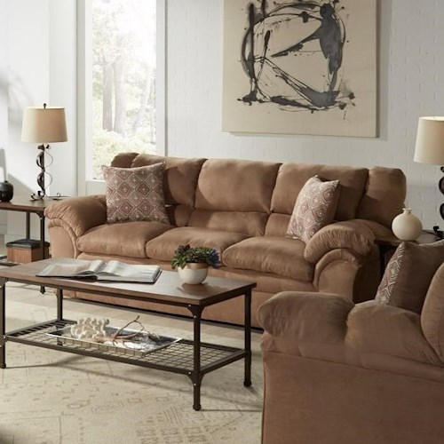 United Furniture Industries 1720 United Casual Sofa with Pillow Arms